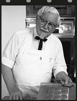 KFC-Gründer KFC   FranchiseDirekt.com