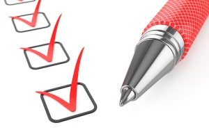 Checklist with Red Pen-1