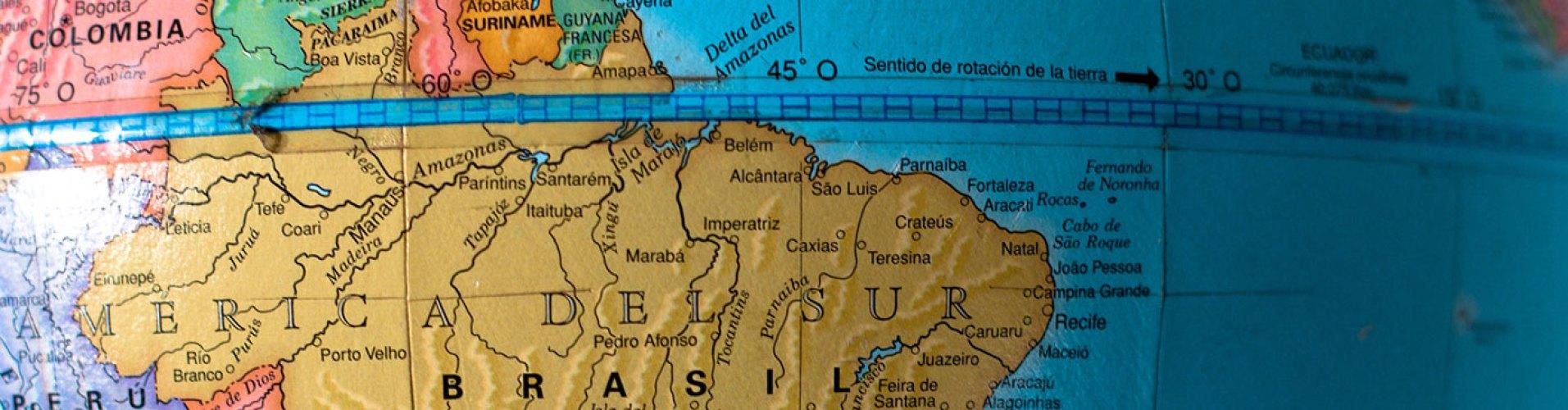 Sudamérica imagen ubicación
