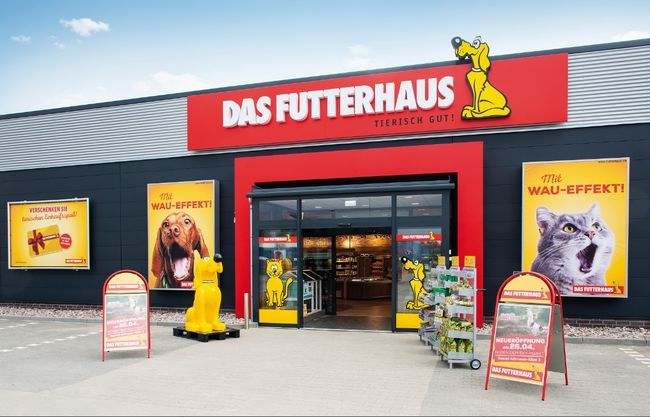 Franchise DAS FUTTERHAUS auf FranchiseDirekt.com