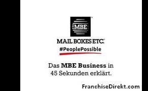 1. Das Franchisekonzept von MBE