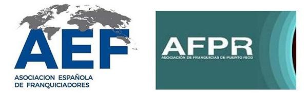 Asoc española de franquiciadores y Puerto Rico logos