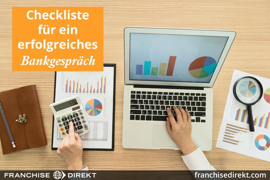 Checkliste für ein erfolgreiches Bankgespräch