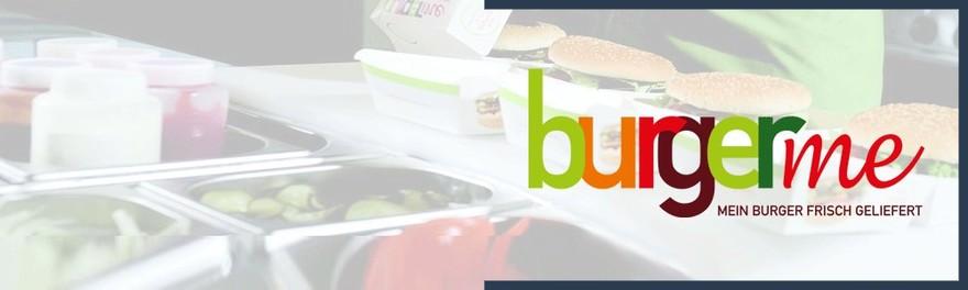 Franchise burgerme Sponsorbanner