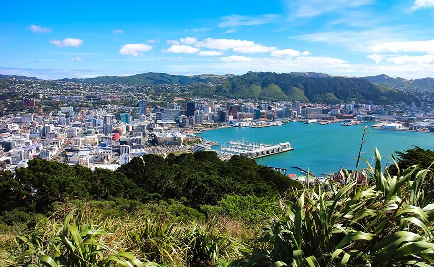 Nueva Zelanda, bahía de Wellington