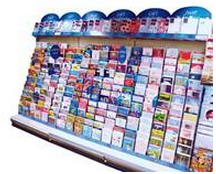 Card Connection Card Display Stand