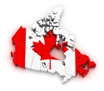 map kanada