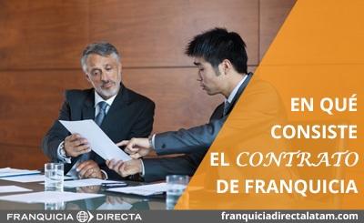 En qué consiste el contrato de franquicia - small