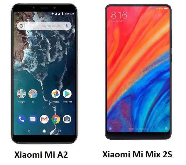 Xiaomi Mi A2 und Xiaomi Mi Mix 2S