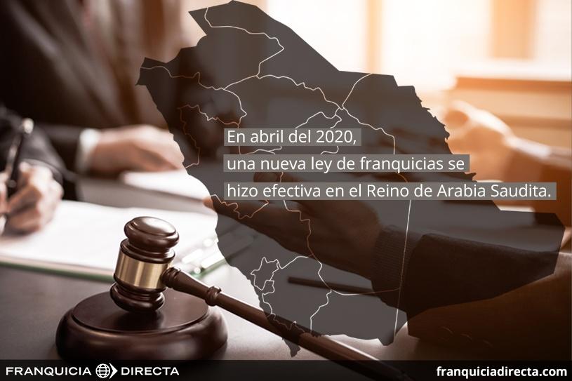 Nueva Ley de franuqicias en Arabia Saudí Top 100 del 2020