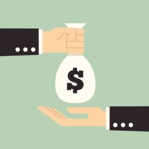 Hands Giving & Receiving Money