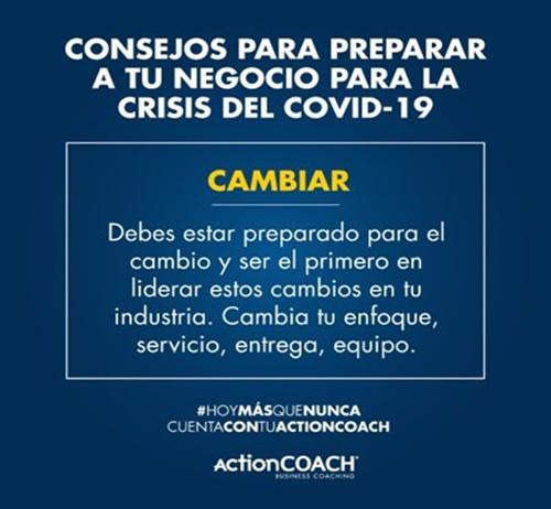 Actioncoach apoya a los empresarios durante la crisis del covid-19