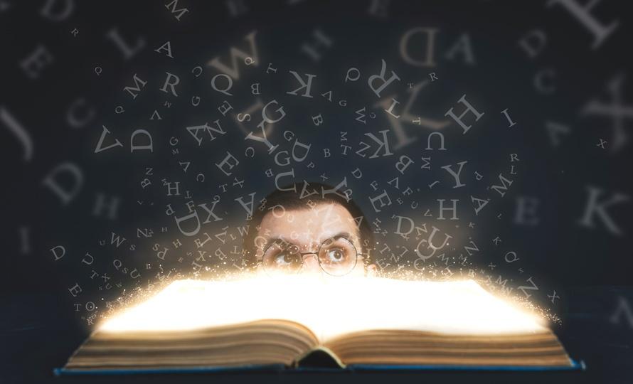 letras desde libro