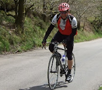 Chris Cook, Franchise Owner with Betterclean Services Cycling