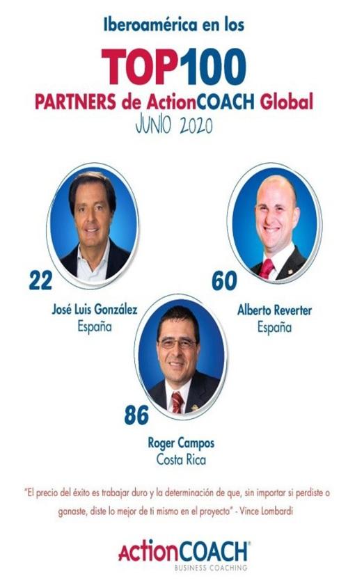 Actioncoach Iberoamérica sigue en el top