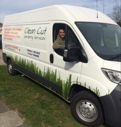 Clean Cut Gardening - Peacehaven van