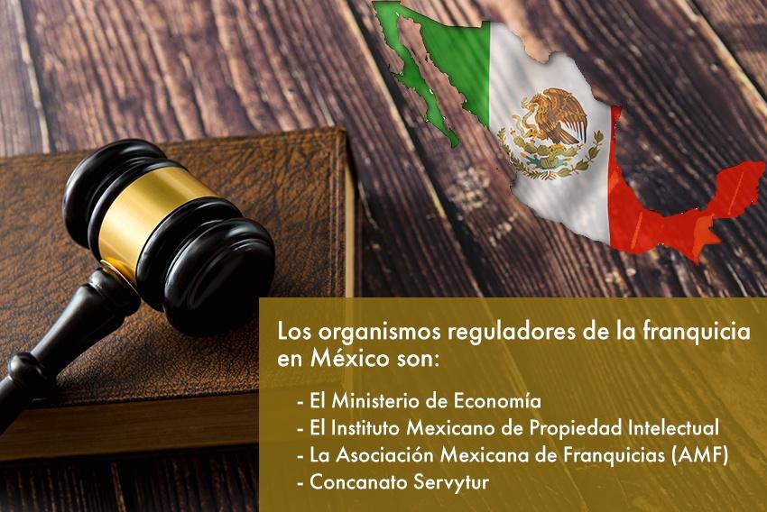 Organismos oficiales que regulan las franquicias en México