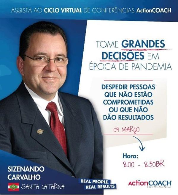El ActionCOACH, de Brasil, Zizenando Carvalho