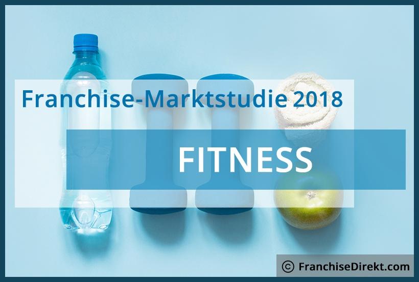 Franchise-Marktstudie 2018 zum Thema Fitness auf FranchiseDIrekt.com
