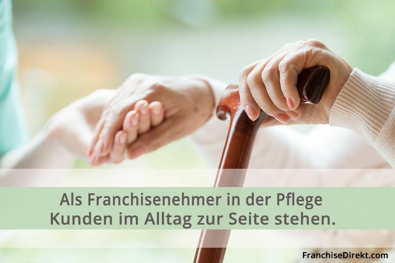 Franchise Marktstudie Senioren- und Pflege FranchiseDirekt.com