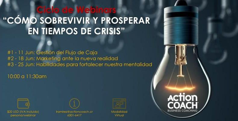 Webinars en junio de Actioncoah Iberoamérica