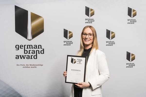 German Brand Awards - Burgerista