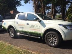 Clean Cut Gardening Luke's van