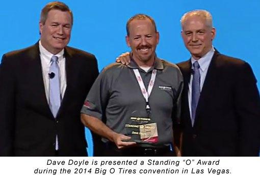 Big O Tires Award Winning Franchise Owner Dave Doyle Says Customer