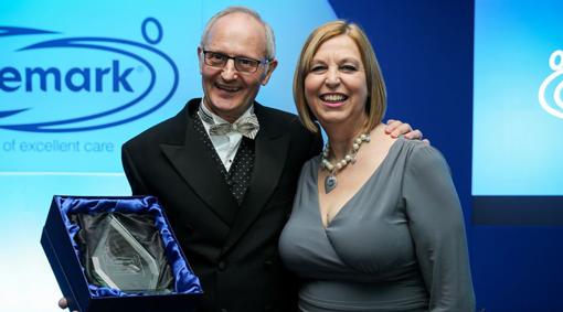 Caremark bfa Olderpreneur finalists with award