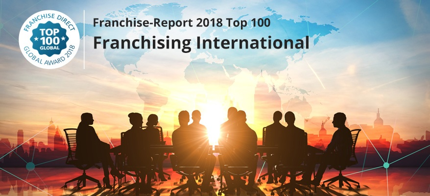 Top 100 Franchise-Unternehmen 2018: Internationales Franchising | FranchiseDirekt.com