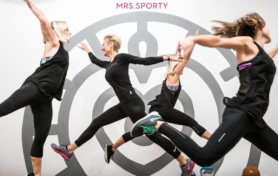 Mrs.Sporty unterstützt mit Trainingsprogrammen und