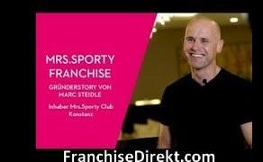 Gründerstory von Marc Steidle bei Mrs. Sporty