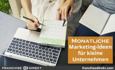 Monatliche Marketing-Ideen - small