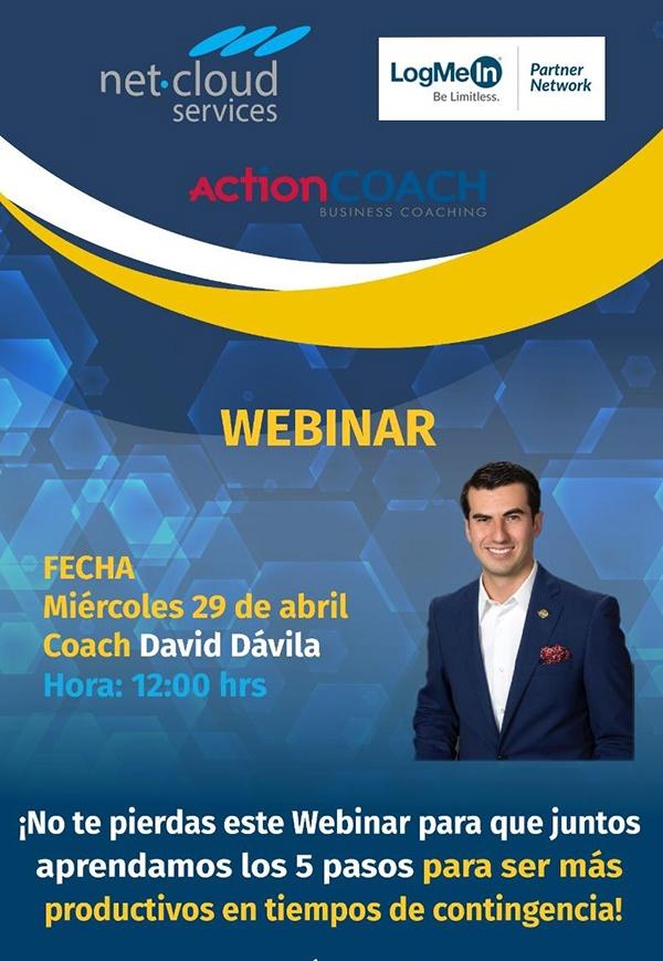 Webinar de las 5 estrategias de productividad de Actioncoach