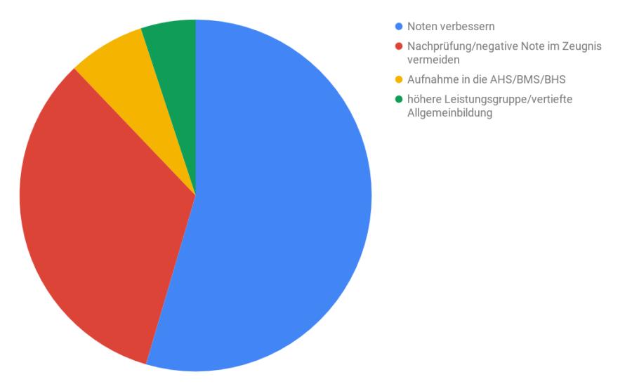 Österreich Beweggründe nachhilfe marktstudie