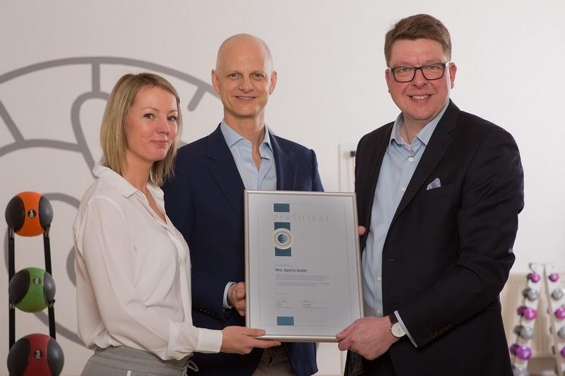 Mrs Sporty erhält wieder begehrte DFV-Auszeichnung | FranchiseDirekt,com