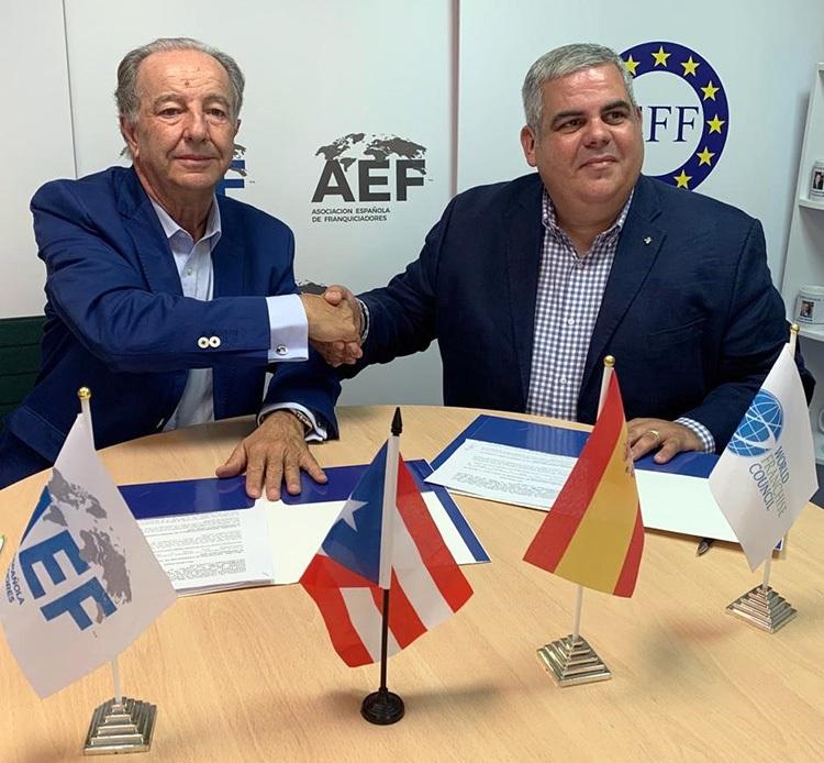 Franquicias de Epaña y Puerto Rico firman un acuerdo de cooperación
