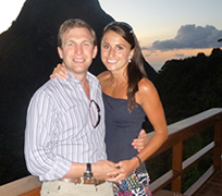Chris Cook, Franchise Owner with Betterclean Services with His Wife