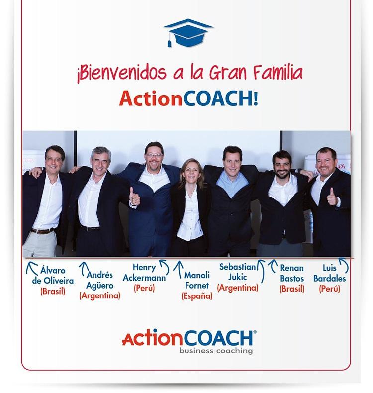Coaches nuevos de Actioncoach Iberoamérica NP