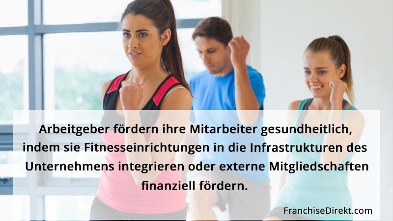 Deutsche Arbeitgeber fördern die Gesundheit ihrer Mitarbeiter durch Sport   FranchiseDirekt.om