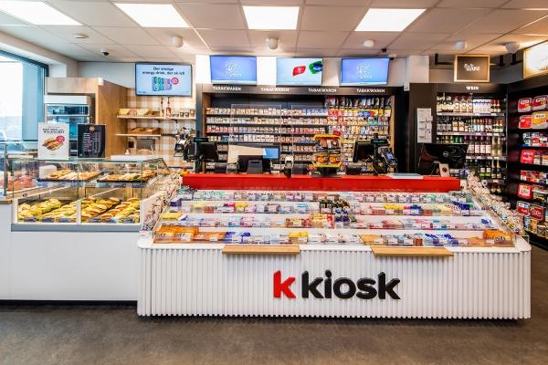 k kiosk und OKTAN - neue Tankstelle in Oldenburg