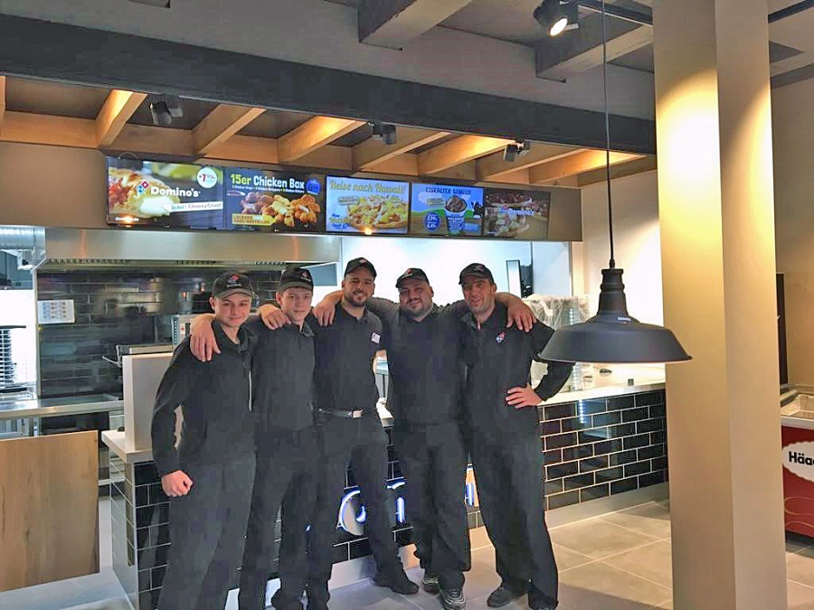 Dominos Trio Eröffnet Neuen Store In Hannover Bemerode Franchise