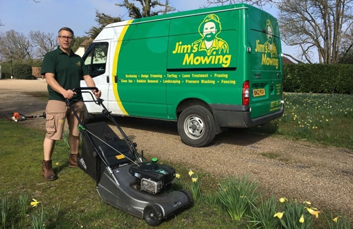 Jim's Mowing - Page