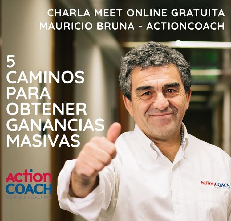 Charla con Mauricio Bruna de ActionCoach