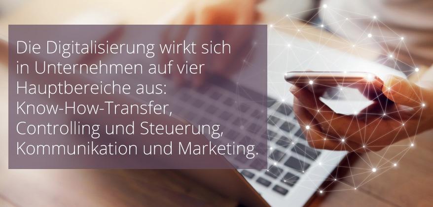 Know-How-Transfer, Controlling und Steuerung, Kommunikation und Marketing-1