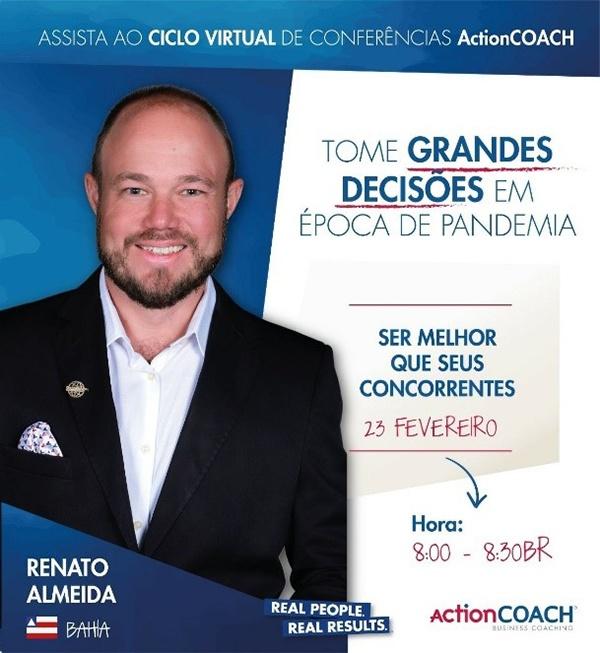 ActionCOACH Brasil, Renato Almeida