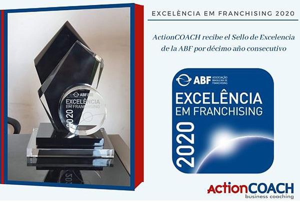 ActionCOACH recibe el Sello de Excelencia de la ABF