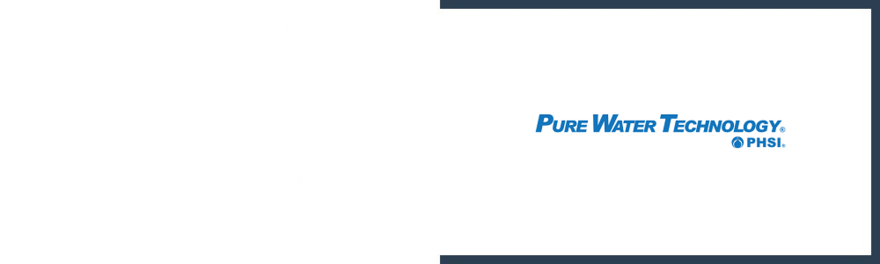 Pure Water Technology Promo