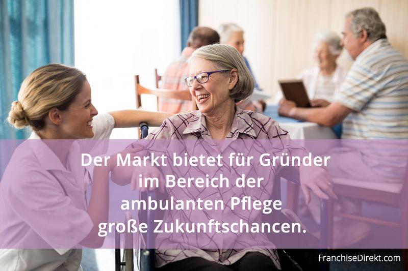 Franchise Marktstudie Senioren und Pflege FranchiseDirekt.com